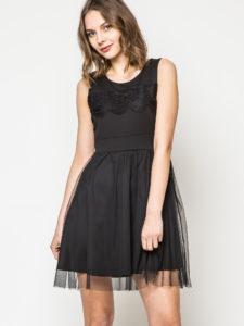 czarna sukienka Yups