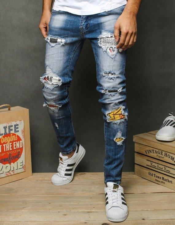 spodnie męskie z dziurami - sklep Dstreet