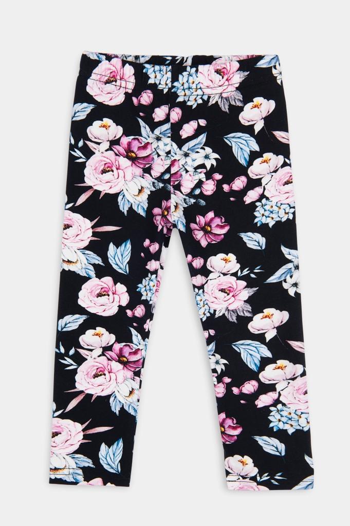 legginsy w kwiatuszki
